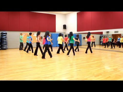 Do I Ever Cross Your Mind? - Line Dance (Dance & Teach in English & 中文)