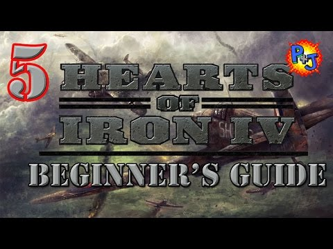 Hearts of Iron 4 Beginner Guide Tutorial Part 5: Air Units, Air Wings, Air Missions, and Carriers