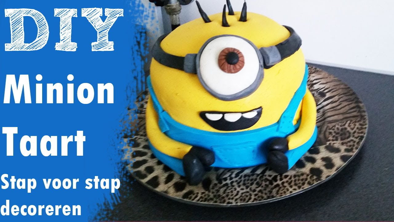 Minion Taart Diy Minion Cake Onzin Of Zinnig Craftmama Despicable Me