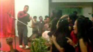 Second five perfom acara perpisahan SMK N 19 JAKARTA di el ayong ...