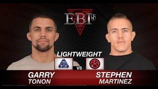 EBI 5 Garry Tonon vs Stephen Martinez 1st Round Full match