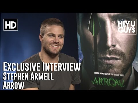 Stephen Amell Exclusive Interview - Arrow