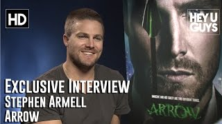 Stephen Amell - Arrow Exclusive Interview