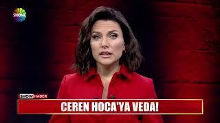 Ceren Hoca'nın ölümünün ardından Show TV sunucusunun sözleri.