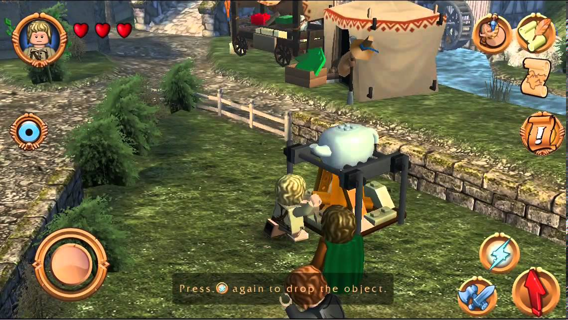 lego lord of the rings video game part 2