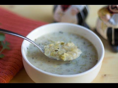 Cream Of Celery Soup | Crockpot Celery Soup