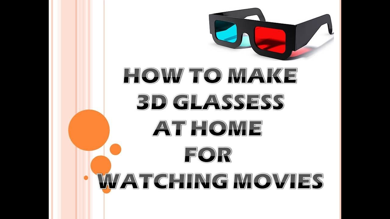 How make 3d glasses working 100% [HINDI] - YouTube