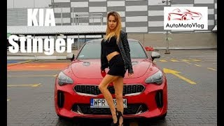 KIA Stinger GT 3.3 V6 AWD (2018) Test PL ..::AMV#11::..