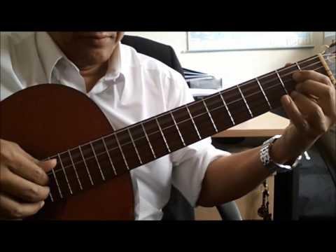 Dia  - Vina Panduwinata / Sheila Majid - Guitar Cover By Bakh Salleh