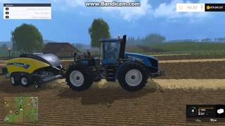 Farming Simulator 15 Сбор тюков