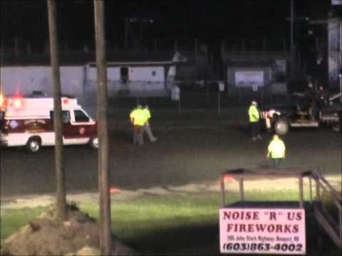 Spencer Allen Canaan Dirt Speedway NEMS 600cc Feature 06-15-2012 Blown Motor .wmv