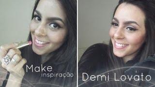 Make Inspiração Demi Lovato - Makeólatras