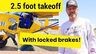 Highlander 2.5 foot takeoff, Steve Henry