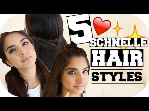 LEICHTE FRISUREN für den SOMMER - für Kurze & Mittellange Haare | Sanny Kaur
