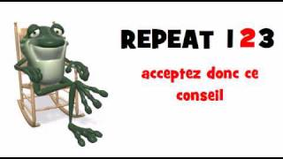 LEARN FRENCH = acceptez donc ce conseil