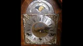Large Warmink Dutch Westminster 8 Day Burl Wood Bracket Clock For Sale On Ebay Uk.