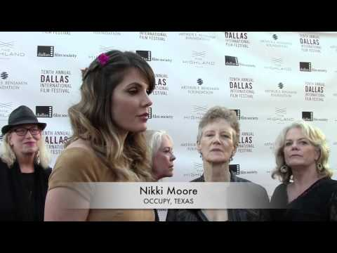 DIFF 2016 Red Carpet: Nikki Moore  OCCUPY, TEXAS