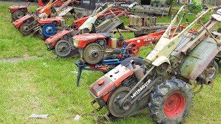 Traktor Mania Jogjakarta Two Wheel Tractor Community รถไถนาเดินตาม Двухколесный трактор