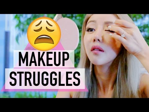 10 Makeup Struggles Every Girl Understands ♥ Wengie