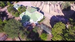 4K Manistee Ranch House historic home in Glendale Az built in 1897 flyover