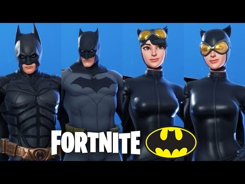 Fortnite x Batman - Batman and Catwoman Skins + Gotham ...