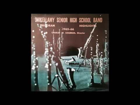 Shikellamy High School Band - Wonderland By Night (1966)