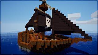 Minecraft: Como construir um Barco Pirata