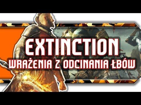 🔥 Extinction / Recenzja bicia wielkich ogrów po głowach