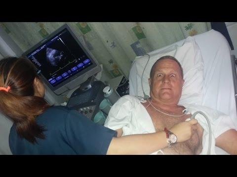 MIKE PHILIPPINE HEART ATTACK ~ Echo-Cardiogram ~ Day 2 ~ Video 3 of 4, Iloilo City Philippines