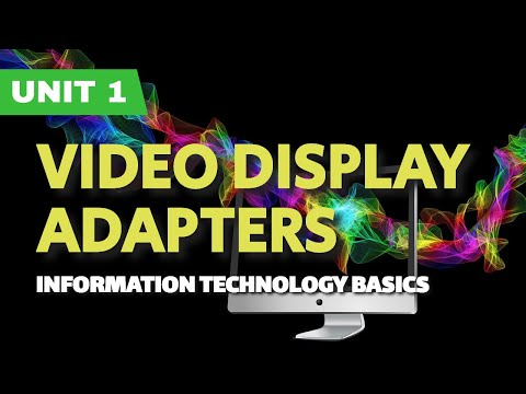 Video Display Adapters (Urdu/Hindi)