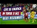 CFR merge mai departe/ CFR Cluj - Maccabi 2-2/ Vezi rezumat HD