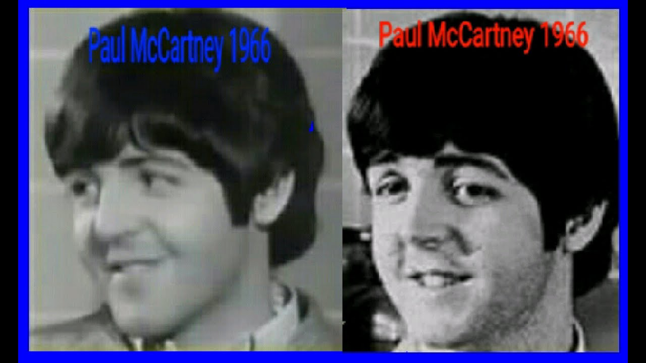 Paul McCartney Photo Comparison 1966