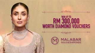 Win up to RM 300,000 worth diamond cash vouchers at Malabar Gold & Diamonds - Malaysia