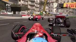 F1 2011 Game HD - Monaco Grand Prix