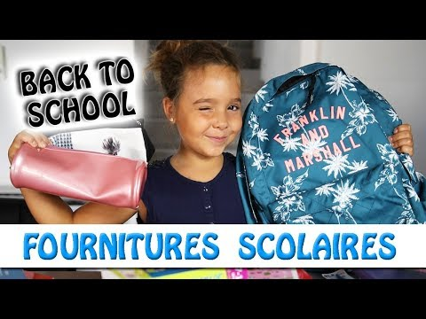 MES FOURNITURES SCOLAIRES / Back to School - Jen