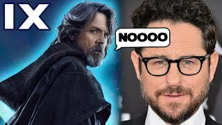 JJ Abrams Answer to Luke Alive or Dead in Episode 9... - Star Wars Explained