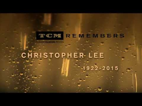 TCM Remembers Christopher Lee