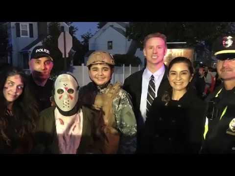 Bender Ave Halloween Video 2017 - Roselle Park, NJ