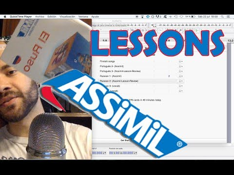 How do i study Assimil lessons? ALWAYS active wave