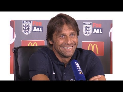 Antonio Conte Pre-Match Press Conference - Arsenal v Chelsea - Community Shield