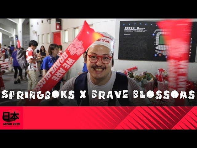 Springboks x Brave Blossoms, a REVANCHE!