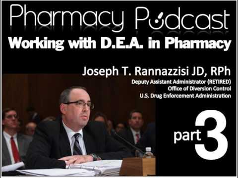 Working with the DEA in Pharmacy (PART 3) - Pharmacy Podcast Episode 445