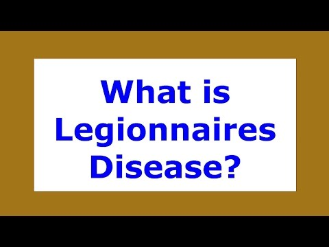 What is Legionnaires Disease | Viral Diseases