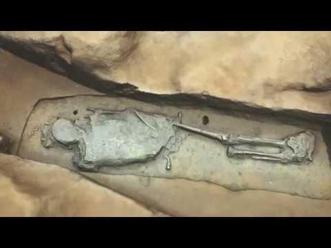 Jamestown Chancel Flythrough 4 Burials 3D Render