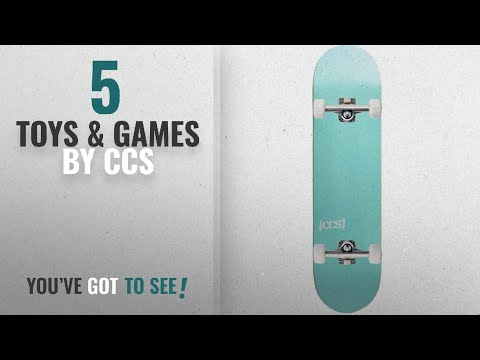 5a073edb Top 10 Ccs Toys & Games [2018]: CCS Logo and Natural Wood Skateboard  Completes - Fully Assembled - YouTube