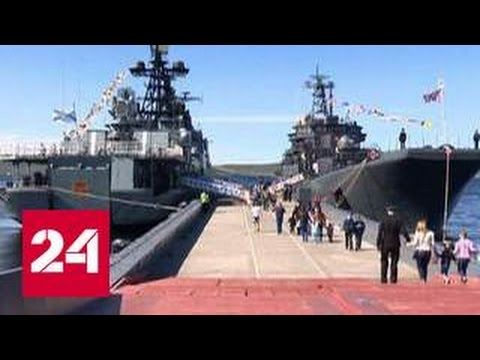 """К берегам Сирии отправится авианесущий крейсер """"Адмирал Кузнецов"""""""