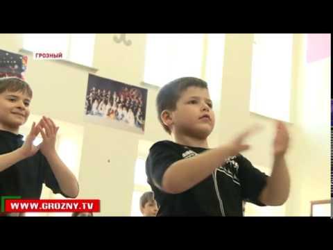 Дети танцуют  Тренировка  Лезгинка