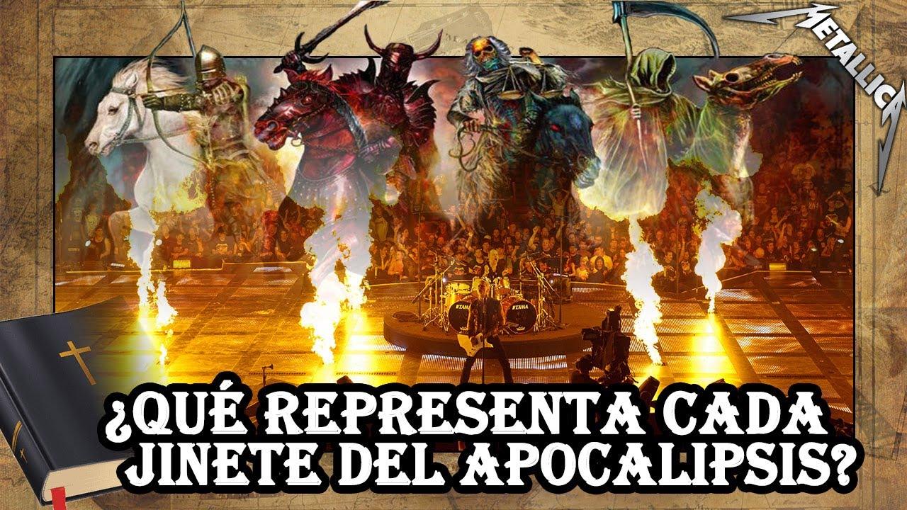 Metallica - The Four Horsemen (Explicación histórica: Los CUATRO JINETES del APOCALIPSIS🏇)