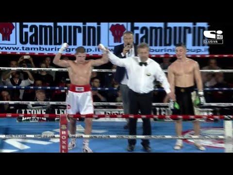 Marco Balducci (red corner) VS Patrizio Moroni (blue corner)