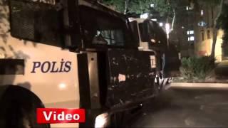 Diyarbakır'da TOMA'ya saldırı: 2 polis yaralı